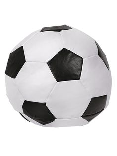 Buy Living Football Cushion Black White At Argos Co Uk
