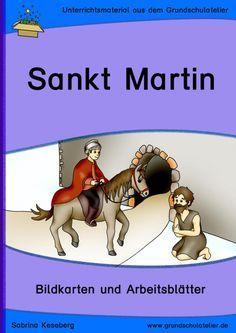 Sankt Martin (Bildkarten und Unterrichtsmaterial)