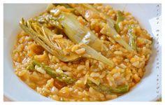 El arroz unos de mis platos favoritos, me gusta de todas las formas posibles cocinado....hoy he optado por un arroz melosito con verduras, que esta para chuparse los dedos. Hace tiempo que tenia ga...