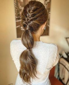 Best Indoor Garden Ideas for 2020 - Modern Bride Hairstyles, Pretty Hairstyles, Straight Hairstyles, Loose Wedding Hair, Bridal Hair, Modelos Fashion, Looks Cool, Hair Dos, Her Hair