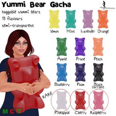 Coming soon - Yummi Bear Gacha http://maps.secondlife.com/secondlife/Sweet%20Surprises/152/68/21