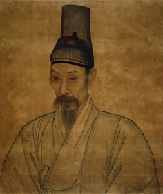 Yi Che-gwan (attributed to), Portrait of a Confucian scholar, a painting From Korea Late Choson dynasty, late - early century AD Wearing a traditional horse-hair indoor hat (t'anggon) Korean Painting, Chinese Painting, Korean Art, Asian Art, Traditional Paintings, Traditional Art, North Africa, Conceptual Art, British Museum