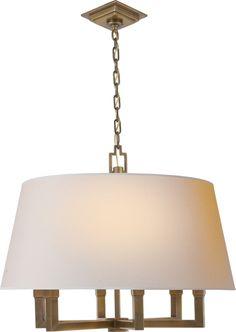 SIX LIGHT SQUARE TUBE CHANDELIER $840 20 x 24 x 11 6 60w bulbs