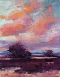 Image result for cloud studies in soft pastels