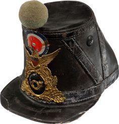 Civil War Chasseur Pattern Leather Shako...