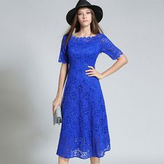 Europe style blue lace dresses early autumn new ladies lace dress short sleeve long Slim sequined dress online shopping india //Price: $46.08 & FREE Shipping // The Buddy Shoppe// https://thebuddyshoppe.com/shop/apparel-accessories/europe-style-blue-lace-dresses-early-autumn-new-ladies-lace-dress-short-sleeve-long-slim-sequined-dress-online-shopping-india/ //    #onlineshop