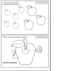 carticica fise matematice nivel 1 3-5 ani | Cu Alex la gradinita Preschool Writing, Preschool Worksheets, Baby Education, Kids And Parenting, Kindergarten, Bullet Journal, Learning, Ali, Art Nails
