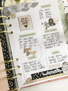 Planner Set up with Layle Koncar! – Scrapbook & Cards Today – an internationally read papercrafting magazine
