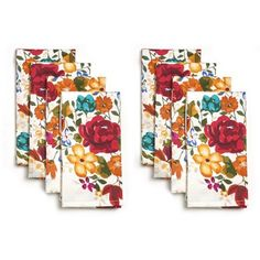 Pioneer Woman Timeless Floral Napkins, Pack of 8 - Walmart.com