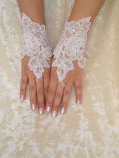 Couple Questions You Should Know Wedding Gloves, Wedding Garter Set, Wedding Wear, Wedding Bride, Ivory Wedding, Wedding Stuff, Wedding Dress, Bridal Cuff, Lace Gloves