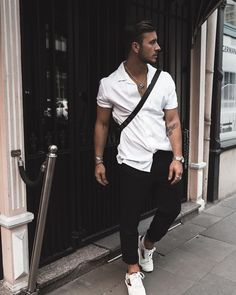 Running the streets in black and white. Keep it simple.