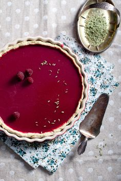 Sernik z malinami // Raspberry cheesecake #raspberry #cheese #sernik