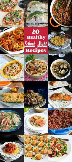 52 healthy school night recipes recipes round ups i love 20 healthy school night recipes cookincanuck forumfinder Choice Image