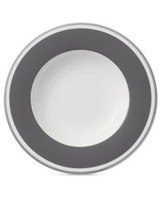 Villeroy & Boch Dinnerware, Anmut Colour Rocky Grey Soup Bowl