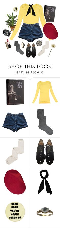 """""""grumpy french art student"""" by urmypoison ❤ liked on Polyvore featuring American Apparel, ASOS, Intimately Free People, Givenchy, Sonia Rykiel and donni charm"""