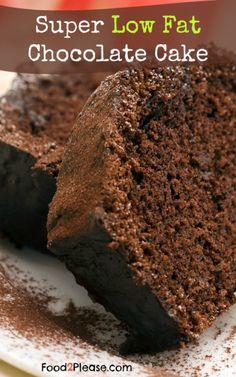 Low Fat Chocolate Cake I Saw on Dr Oz