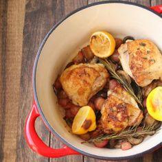 Lemon and Mushroom Chicken - Egg Free, Nut free, Nightshade Free
