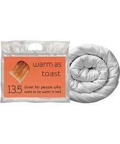 Warm as Toast 13.5 Tog Duvet - Single.