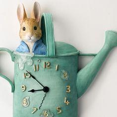 Beatrix Potter clock