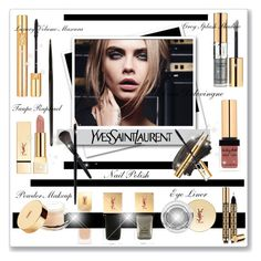 YSL Mascara Volume Effect Faux Cils! by bella-danielle-mia on Polyvore featuring polyvore Schönheit L'Oréal Paris Yves Saint Laurent Beauty CaraDelevingne polyvoreeditorial YSLmakeup
