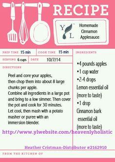 My kids really love this version of applesauce. Easy & I know exactly what the ingredients that are going into this.