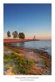 The light summer nights in North Ostrobothnia, in Oulu and the beach Nallikari.