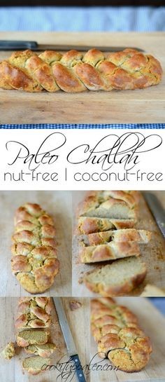 Paleo Challah made with Otto's Naturals Cassava Flour | Cook It Up Paleo