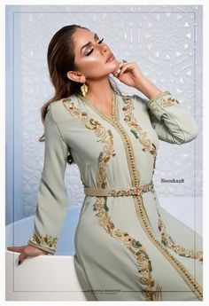 Caftan Marocain Haute Couture 2019   Vente En Ligne