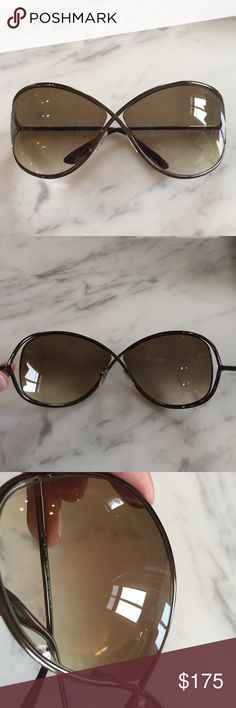 734b257da098d Tom Ford Miranda Sunglasses Like new condition! These are the bronzer shades.  There is