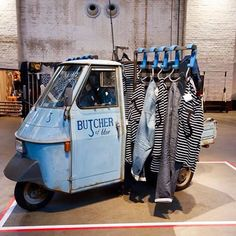 """AMSTERDAM DENIM DAYS, Amsterdam, The Netherlands, """"The Butcher of Blue launched their first official collection"""", pinned by Ton van der Veer"""