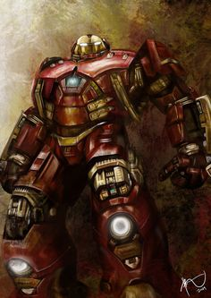 Hulkbuster Armor by Rheza Maulana by rhezM on DeviantArt that moment when u realize that there is something stronger than the hulk