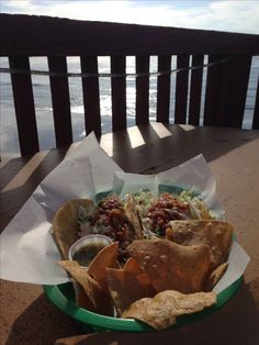 Chorizo Bacon Shrimp Tacos at Bull Taco Encinitas CA