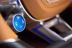 Bugatti Chiron Interior detail