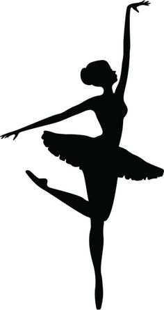 Ballerina Kunst, Ballerina Drawing, Dancer Drawing, Ballet Drawings, Pencil Art Drawings, Ballerina Silhouette, Girl Silhouette, Silhouette Vector, Silhouette Drawings