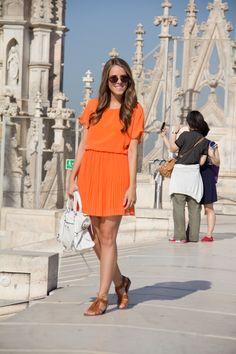 8.12 milan continued (Tobi dress + Madewell sandals + Balenciaga bag + American Apparel sunnies + ILY Couture bracelet)