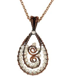 Paisley pendant class offered at Phila. Bead Fest in August