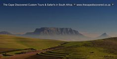 Iconic Table Mountain (photo borrowed)