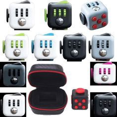 Unisex kids Fun Fidget Cube Anxiety Stress Relief attention Focus 6side Dice Toy. 1 x Stress Relief Focus 6-side Fidget Cube(Without the Box). This is a wonderful toy that relieves stress, helps you Fidget in a way that presents you professionally. | eBay!