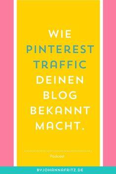 """Pinterest Profi Caroline Preuss und Diy-Bloggerin (madmoisell) spricht im Podcast """"Skizzenbuch und Marketing"""" darüber, wie sie Pinterest nutzt, um all den Traffic auf ihren Blog zu lenken. Kurz: Wie du mit Pinterest für deinen Blog oder Website eine unglaublich hohe Reichweite erzielen kannst."""