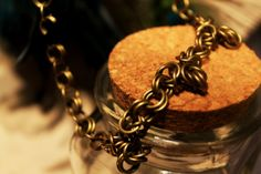The TriRose Necklace by EotBDesigns on Etsy, $47.00
