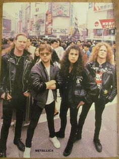 Metallica, Full Page Pinup