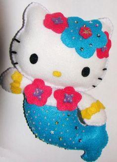 DIY Tutorial | Hello Kitty Mermaid | Cut Out and Keep
