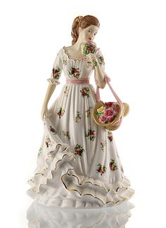 Image detail for -Royal Doulton Pretty Ladies Annuals, Sweet Roses - Royal Albert Old ...