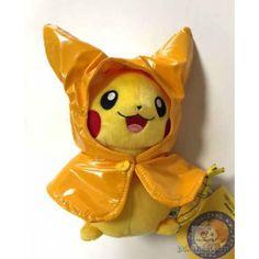 Pokemon Center 2015 Monthly Pikachu Raincoat Plush Toy (June)