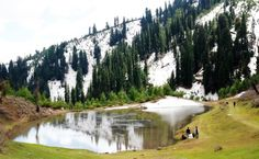 Siri lake is situated near Shogran in Siri, on the way to Payee in Kaghan Valley, Pakistan.