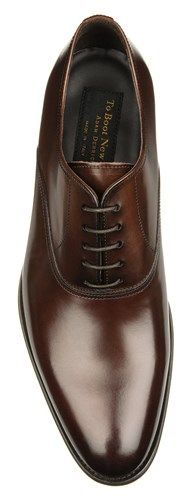 To Boot New York: Men's Langford Lace Ups in Dark Brown