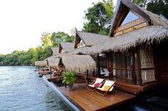 Drijvende villa's River Kwai - MrsNomad & KidsMrsNomad & Kids