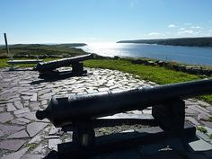 Trepassey Battery at Powell's Point - the gun battery was established during the American Revolutionary War and was used in the War of 1812.