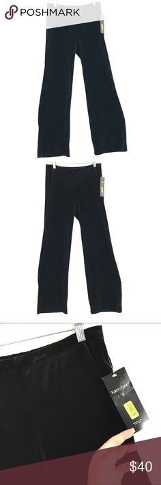 """Karen Kane velvet pants New. Size medium. Measurements are taken with the garment laying flat, unstretched, in inches not doubled and are approximate. Waist-16 stretchy length from waistband - 54"""" Karen Kane Pants"""