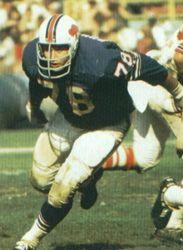Jim Dunaway Buffalo Bills 1963-71 and Miami Dolphins 1972.